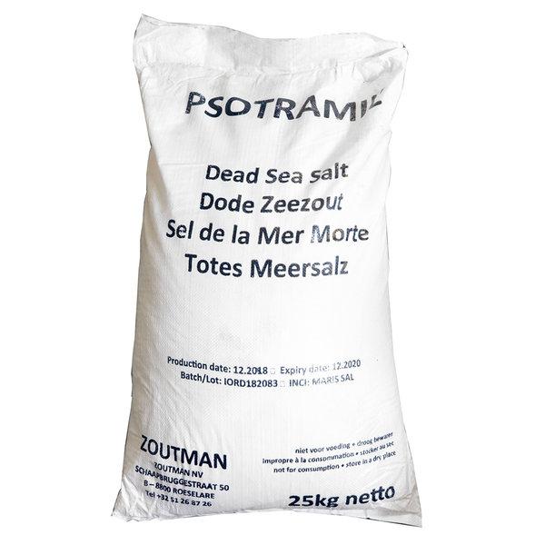 NATURAL BIO STORE Finest Selection Dead Sea Salt Bulk Bag 25kg