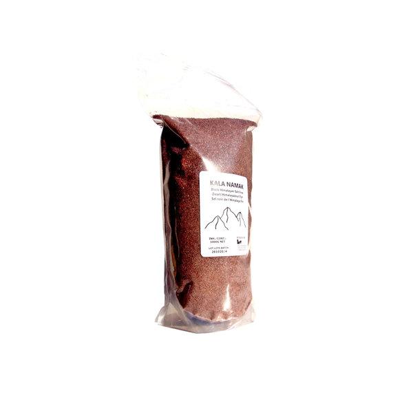 "NATURAL BIO STORE Finest Selection Kala Namak ""Black Himalayan Salt"" Fine grain 1000 grams"