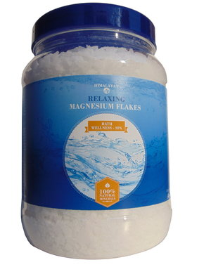 NATURAL BIO STORE Finest Selection 3x Himalaya Magnesium Flakes 1000 g