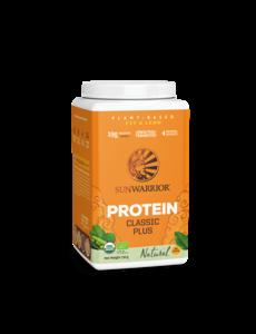 SUNWARRIOR Protéine en Poudre Classic Plus Naturel 750g