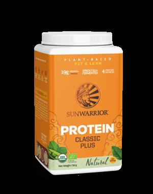 SUNWARRIOR SUNWARRIOR Protéine en Poudre Classic Plus Naturel 750g Bio & Vegan