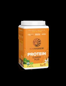 SUNWARRIOR Protéine en Poudre Classic Plus Vanille 750g Bio & Vegan
