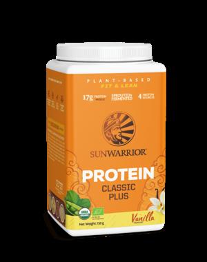 SUNWARRIOR Protéine en Poudre Classic Plus Vanille 750g