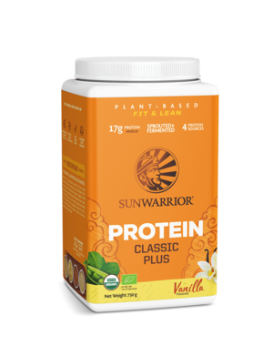SUNWARRIOR SUNWARRIOR Proteïne Poeder Classic Plus Vanille 750g Bio & Vegan