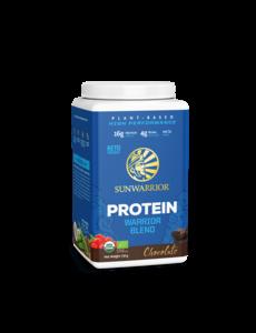 SUNWARRIOR SUNWARRIOR Warrior Blend Protéine en Poudre Chocolat 750g Bio & Vegan
