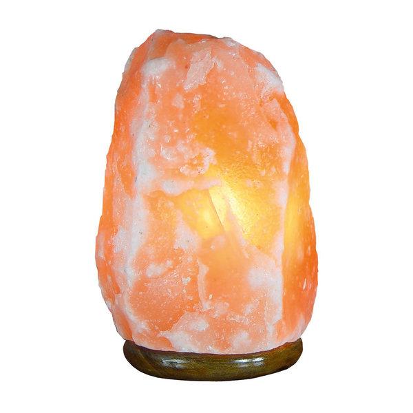 NATURAL BIO STORE Finest Selection Lampe à Sel de l'Himalaya de 10 à 12kg, forme naturelle