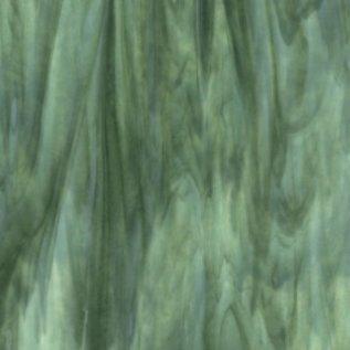 2112-000 mint opal, deep forest green 3 mm