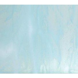 2218-030 aqua blue tint, white 3 mm