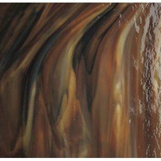 3203-030 woodland brown opal, ivory black 3 mm