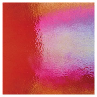 1322-051 garnet red, thin, irid, rbow 2 mm