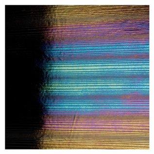 0100-046 black, accordion, irid, rbow 3 mm