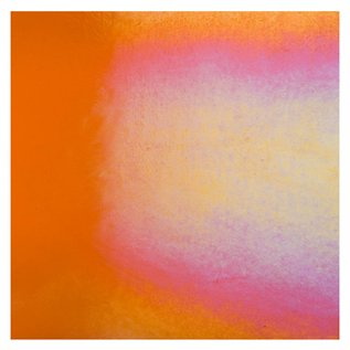 1025-051 light orange striker, thin, irid, rbow 2 mm