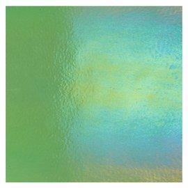 1107-051 light green, thin, irid, rbow 2 mm