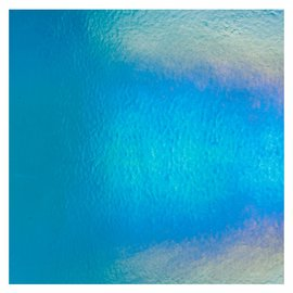 1116-051 turquoise blue, thin, irid, rbow 2 mm