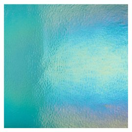 1408-051 light aqua, blue, thin, irid, rbow 2 mm