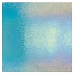 1416-051 light turquoise blue, thin, irid, rbow 2 mm