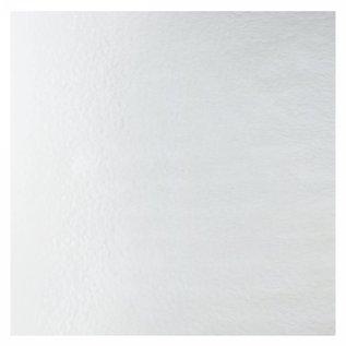 1101-037 clear, dbl-rol, irid, silver 3 mm