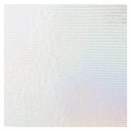 1101-048 clear prismatic, irid, rbow 3 mm