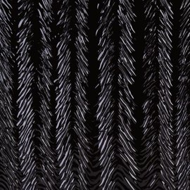 0100-022 black, herringbone ripple 3 mm