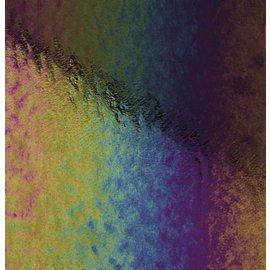 0100-031 black, dbl-rol, irid, rbow 3 mm