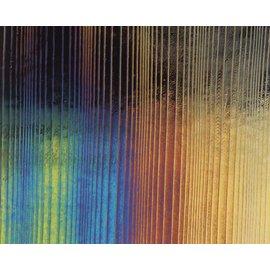 0100-056 black, thin, accordion, irid, rbow 2 mm