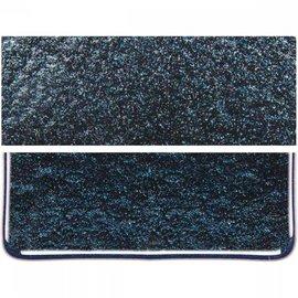 1140-051 aventurine blue, thin, irid, rbow 2 mm