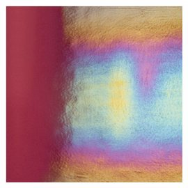 1105-031 deep plum, dbl-rol, irid, rbow 3 mm