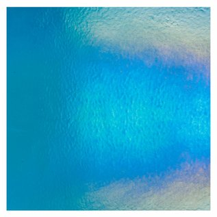 1116-031 turquoise blue, dbl-rol, irid, rbow 3 mm