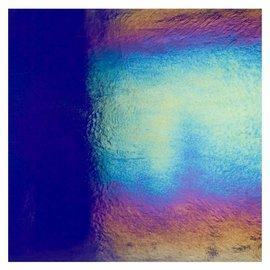1118-031 midnight blue, dbl-rol, irid, rbow 3 mm