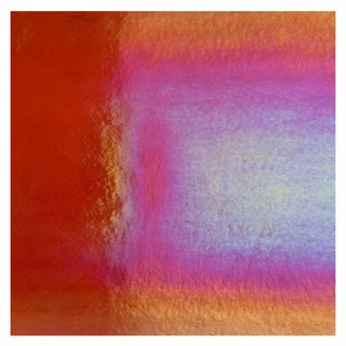 1122-031 red, dbl-rol, irid, rbow 3 mm