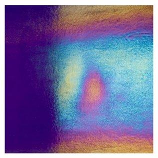1128-031 deep royal blue, dbl-rol, irid, rbow 3 mm