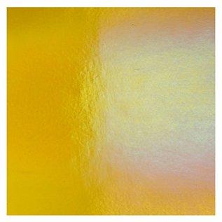 1137-031 medium amber, dbl-rol, irid, rbow 3 mm