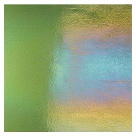 1141-031 olive green, dbl-rol, irid, rbow 3 mm