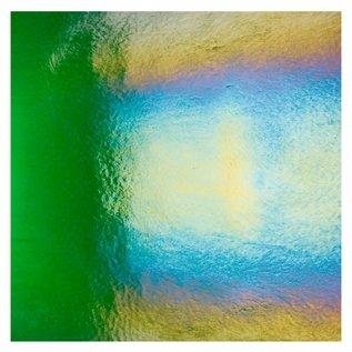 1145-031 kelly green, dbl-rol, irid, rbow 3 mm