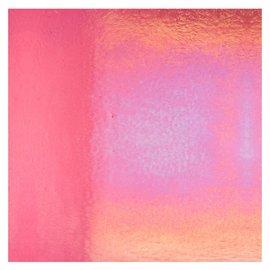 1215-031 light pink striker, dbl-rol, irid, rbow 3 mm