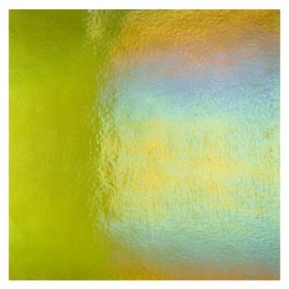 1241-031 pine green, dbl-rol, irid, rbow 3 mm