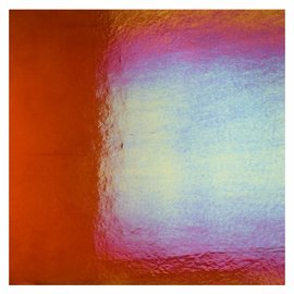 1321-031 carnelian, dbl-rol, irid, rbow 3 mm