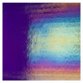 1334-031 gold purple, dbl-rol, irid, rbow 3 mm