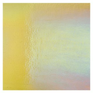 1437-031 light amber, dbl-rol, irid, rbow 3 mm
