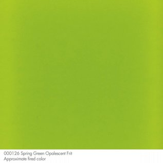 0126 frit spring green coarse 454 gram