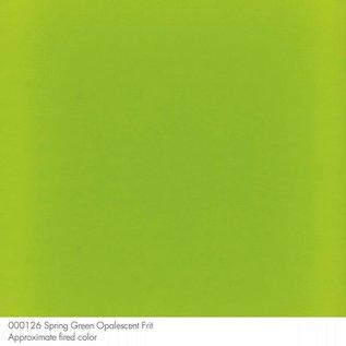 0126 frit spring green powder 110 gram