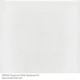 0243 frit translucent white coarse 110 gram