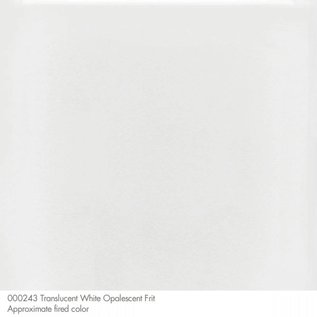 0243 frit translucent white coarse 454 gram