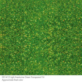 1412 frit light aventurine green coarse 454 gram