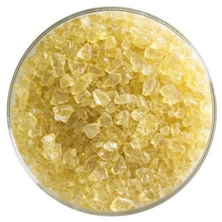 1837 frit medium amber tint coarse 454 gram