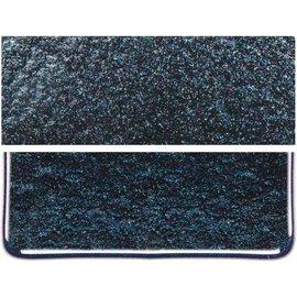 1140-031 aventurine blue, dbl-rol, irid, rbow 3 mm