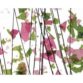 4114-000 spring green & deep pink 3 mm