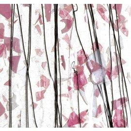 4115-000 deep pink, light pink & white 3 mm