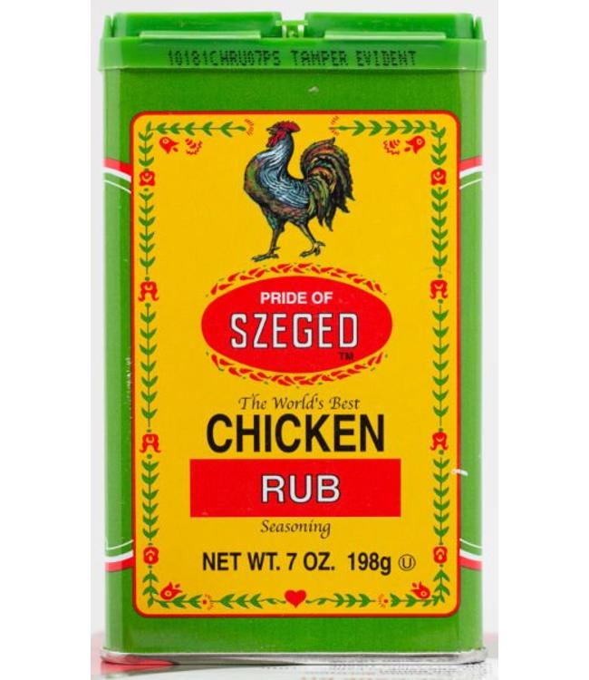 Szeged Chicken Rub Seasoning - Kip kruiden