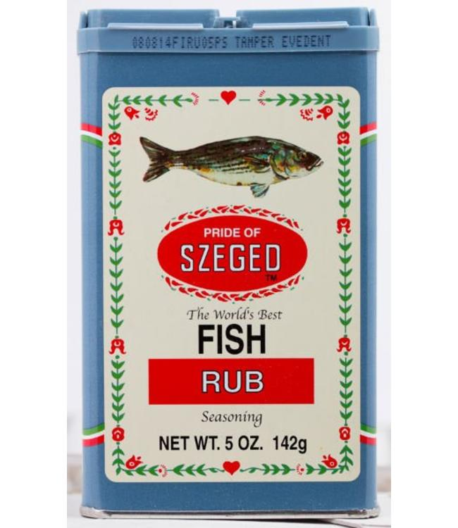 Szeged Fish Rub Seasoning - vis kruiden